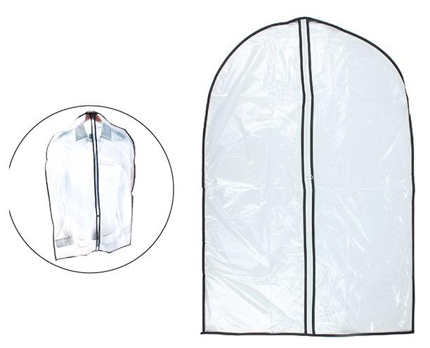 Capa Protetora para Roupa com Ziper  - Eu Organizo
