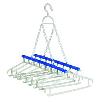 Varal para Camisas - 8 Cabides  - Eu Organizo