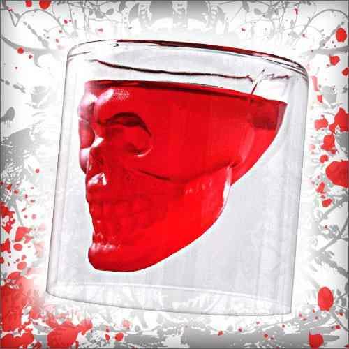 Copo Cranio De Caveira De Cristal - Doomed