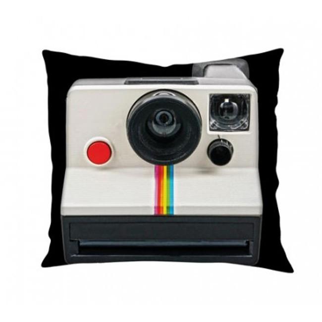 Capa Almofada Camera Antiga Retro Polaroid