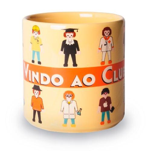 Caneca Formatura Chocolate Bem-vindo Ao Clube