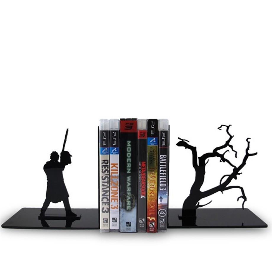 Suporte Aparador De Livros Dvd Cd Noite Do Terror
