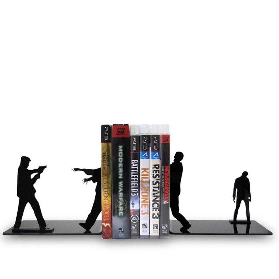 Suporte Aparador De Livros Dvd Cd Zumbilândia