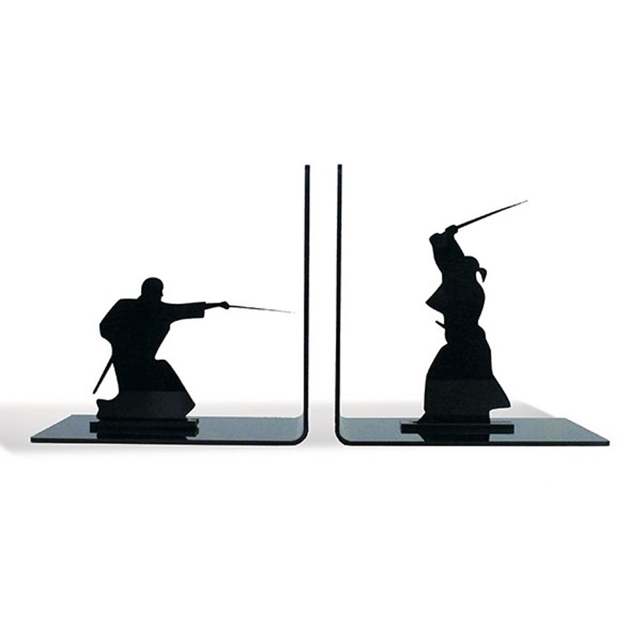 Armario De Cozinha Casas Bahia Preto E Branco ~ Suporte Aparador De Livros Dvd Cd Samurai Espadachim Luta Loja de Presentes Criativos e