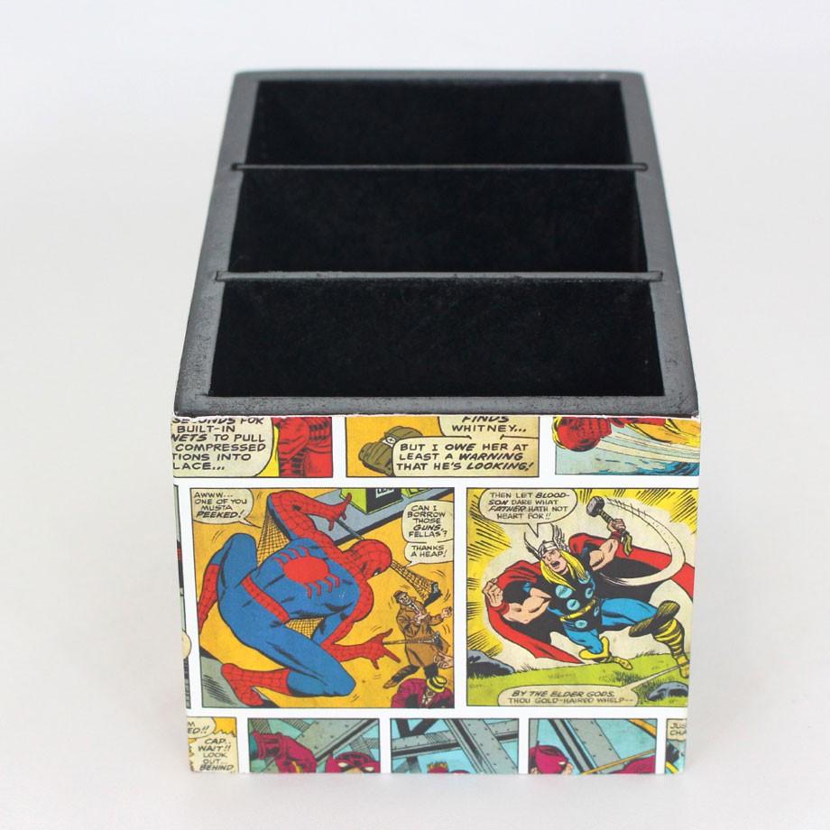 Porta Treco Objetos Marvel Colors Quadrinhos