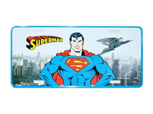 Placa De Metal Super Heróis Dc Comics 6 Modelos A Escolher