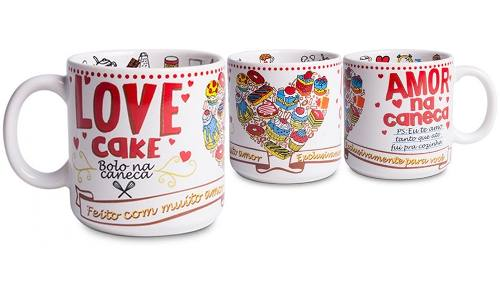 Caneca Chocolate Love Cake
