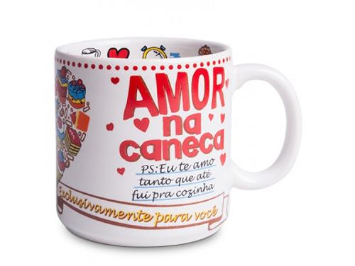 Caneca Chocolate Love Cake