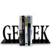 Suporte Aparador De Livros Dvd Cd Geek Letras Escrita
