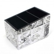 Porta Treco Objetos Marvel Preto e Branco Quadrinhos