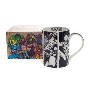 Caneca Dream Mug Marvel Preto E Branco