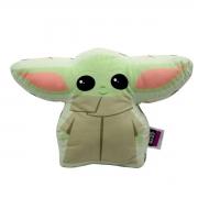 Almofada Decorativa Formato Baby Yoda Mestre Jedi Star Wars Guerra nas Estrelas