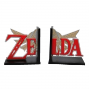 Aparador de Livro Logo Zelda