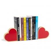 Aparador de Livros Coração Pinus