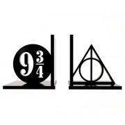 Aparador de Livros Harry Potter Relíquias da Morte