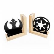 Aparador de Livros Star Wars Rebeldes vs Império Base Pinus