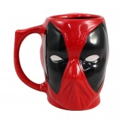 Caneca 3D Deadpool Marvel 400 ml