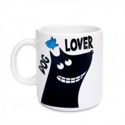 Caneca Branca Dog Lover