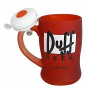 Caneca Campainha Duff Beer - The Simpsons