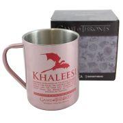 Caneca de Aço Khaleesi - Game Of Thrones