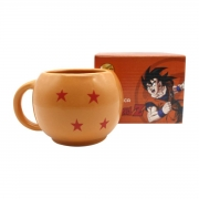 Caneca Formato Esferas do Dragão Dragon Ball Z Goku Mangá
