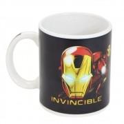 Caneca Mágica Termossensível Iron Man Homem De Ferro Marvel