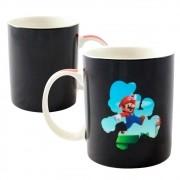 Caneca Mágica Termossensível Super Mario Bros