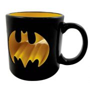 Caneca Porcelana 3D Batman Logo