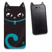 Capa para Celular Iphone 4 Animal - Gato