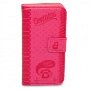 Capa Para Celular Iphone 4 Carteira - Contatos