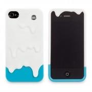 Capa Para Celular Iphone 4 Tinta - Branca