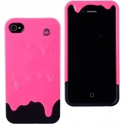 Capa para Celular Iphone 4 Tinta - Pink