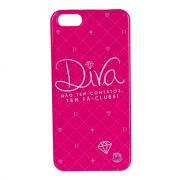 Capa Para Celular Iphone 5/5s Stamp - Diva