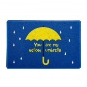 Capacho How I Met Your Mother 60x40cm Yellow Umbrella