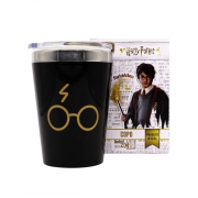 Copo Viagem Harry Potter Cicatriz 300 mL