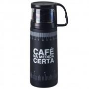 Garrafa Térmica 350 ml com Caneca - Na Medida Certa