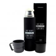 Garrafa Térmica 500 ml com Caneca Café Quente