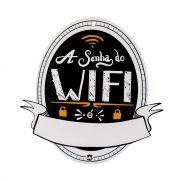 Imã de Notas - Senha do Wifi