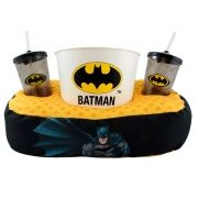 Kit Almofada Porta Pipoca Batman DC
