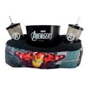 Kit Almofada Porta Pipoca Vingadores Avengers