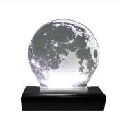 Luminária de LED Acrílico Lua/Moon