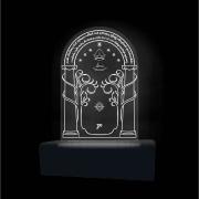 Luminária em Acrílico Senhor dos Anéis