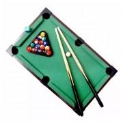 Mini Bilhar Sinuca Snooker Com 51x31x11cm