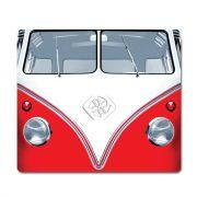 Mouse Pad Kombi Vermelho Clássica Vintage Retro