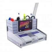 Organizador de Escritório Console Super Nintendo Gamer
