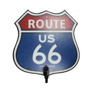 Pendurador Gancho Route US 66 Azul