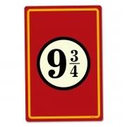 Placa Decorativa 24x16 Harry Potter 9 34