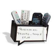 Porta Controle Balão de Fala Escreve e Apaga com Caneta