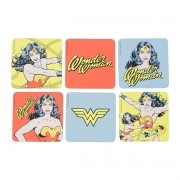 Porta Copos Mulher Maravilha Comics Liga da Justiça