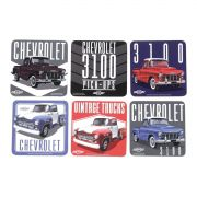 Porta Copos Vintage Trucks Chevrolet